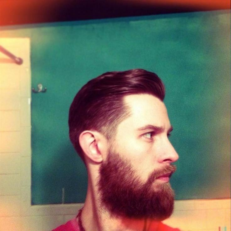 hair......and beard.