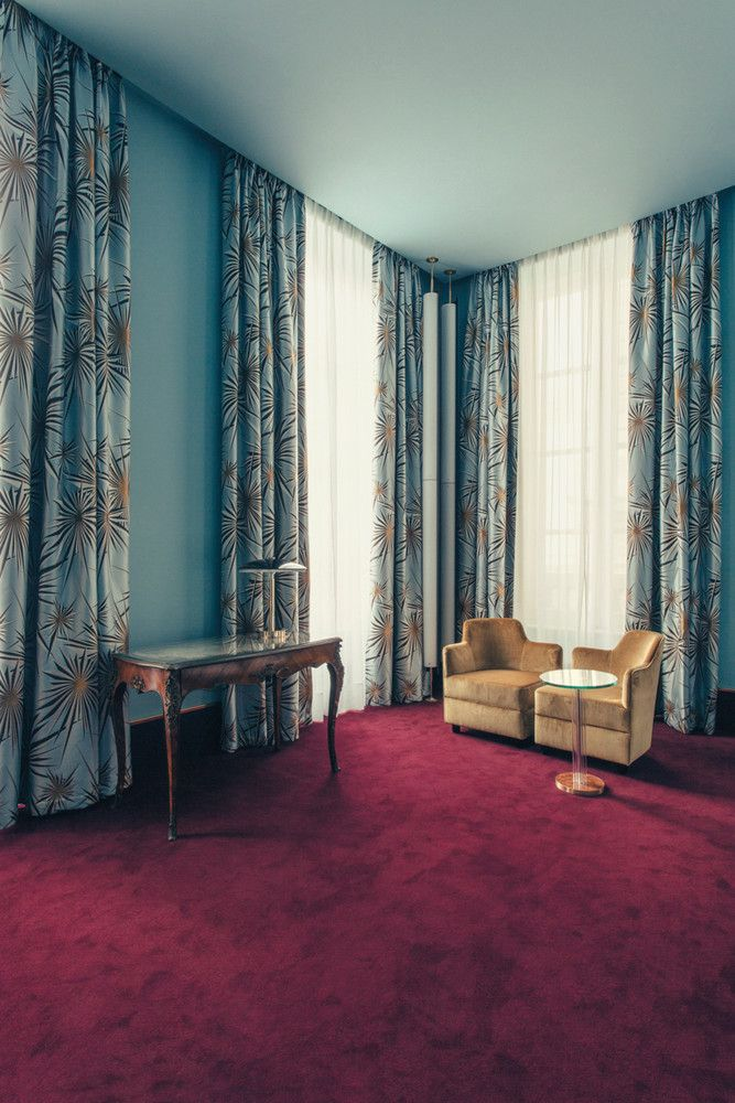 Meet Dimore Studio The New Italian Masters Of Color Eclectic Bedroom Hotel Suite Design Art Deco Curtains