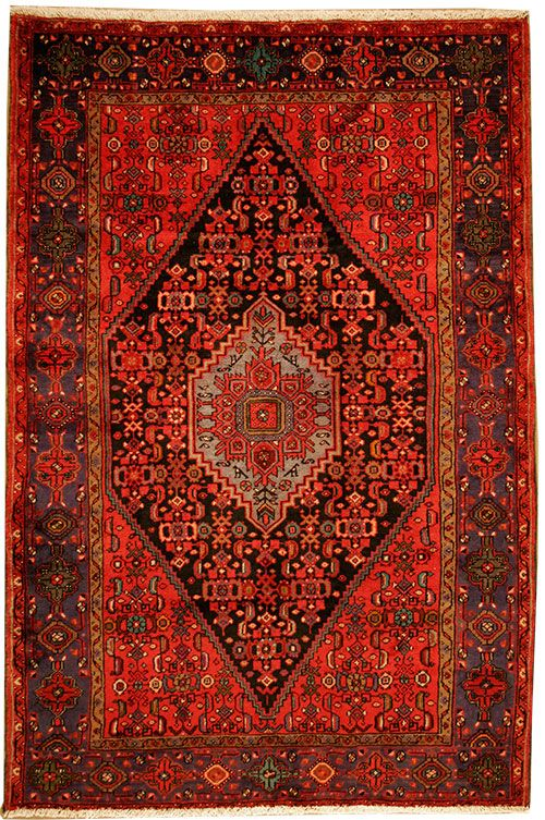 Antique Oriental rug..