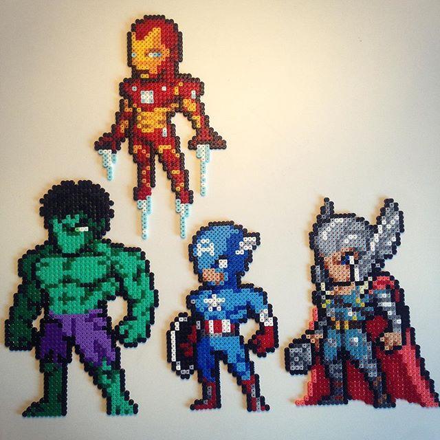 Avengers movimiento