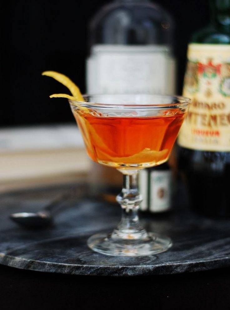 1 1/2 oz Old Tom Gin 1 1/2 oz Montenegro amaro 1/4 oz Maraschino liqueur A few dashes of cardamom bitters