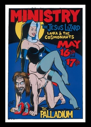 Ministry Concert Poster 1996