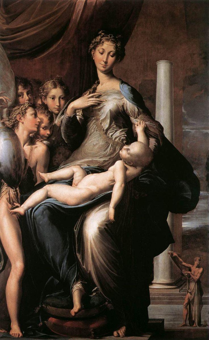 Μαντόνα με τον μακρύ λαιμό (1534-40)