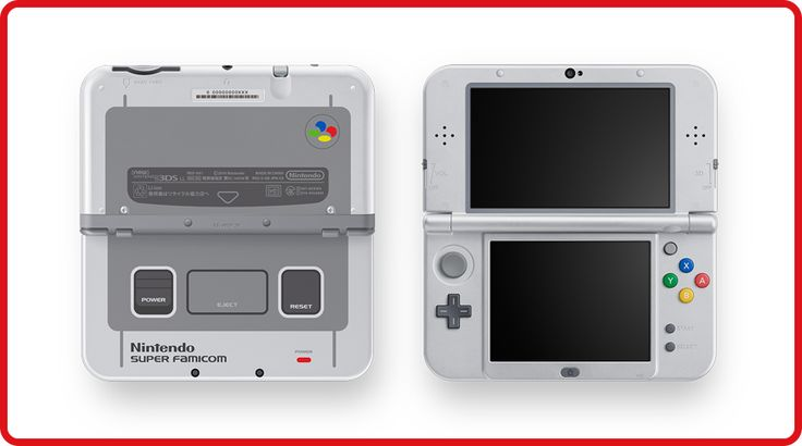 Newニンテンドー3DS LL スーパーファミコン エディション |ニンテンドー3DS|Nintendo
