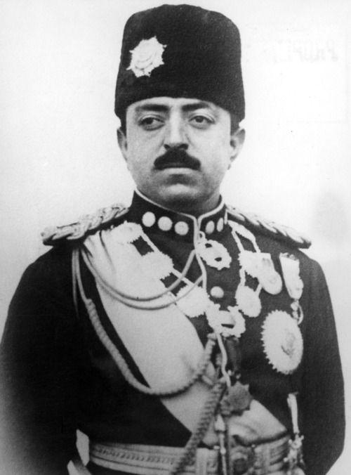 King Amanullah Khan of Afghanistan, ca. 1920s.