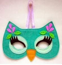 kids felt animal masks templates - Google Search