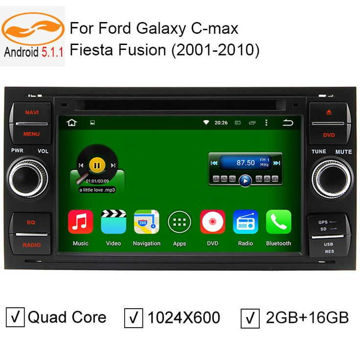 Find More Car DVD Information about Android 5.1.1 Car Radio DVD GPS Head Unit for Ford Focus Galaxy S Max Fusion Fiesta HD Screen Quad Core 2GB + 16GB,High Quality dvd gps chevrolet,China gps dvd car Suppliers, Cheap dvd gps mercedes from Professional Car Accessories Online Selling Store on Aliexpress.com