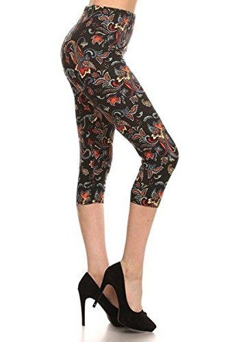 New Trending Pants: Leggings Depot Womens Popular Capri Cropped REGULAR and PLUS Printed High Waist Leggings Batch2 (Plus Size (12-24), Amour). Leggings Depot Women's Popular Capri Cropped REGULAR and PLUS Printed High Waist Leggings Batch2 (Plus Size (12-24), Amour)  Special Offer: $11.99  144 Reviews These beautiful high rise capri leggings in abstract print provides a slimming design with a high rise fabric waist,...