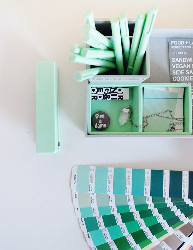 nubby twiglet poppin office supplies in mint branch. Black Bedroom Furniture Sets. Home Design Ideas