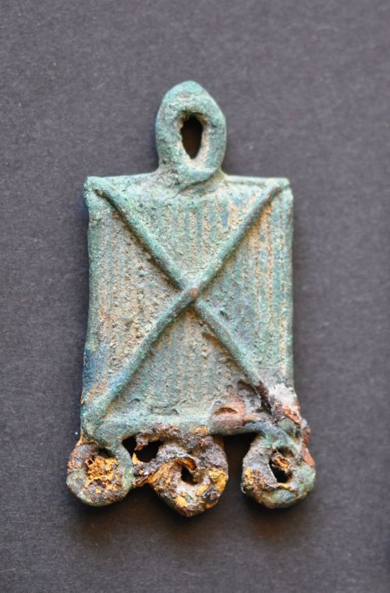 Amlash bronze pendant 3, 1st millenium B.C. Private collection