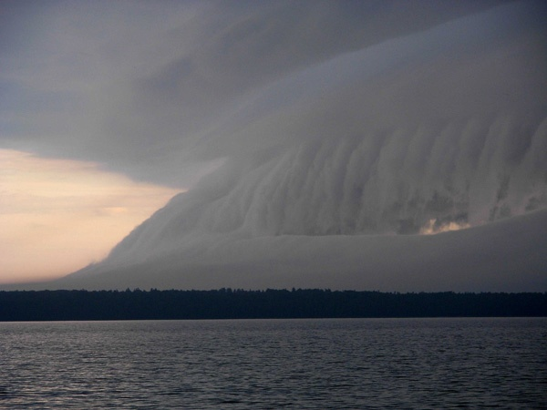 Storm over Manitoulin Island, ON, Canada