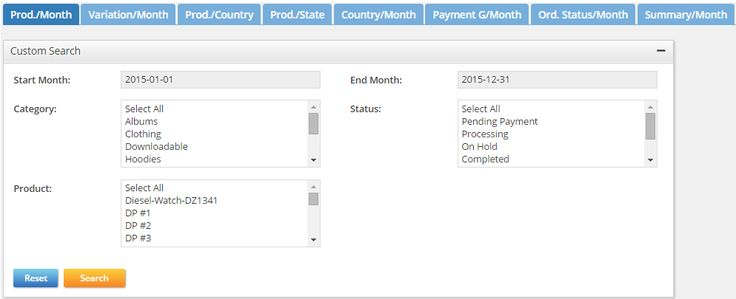 Check your #WooCommerce cross #sales data prod./month, variation/month, category/month, etc. http://goo.gl/Wb4zRm