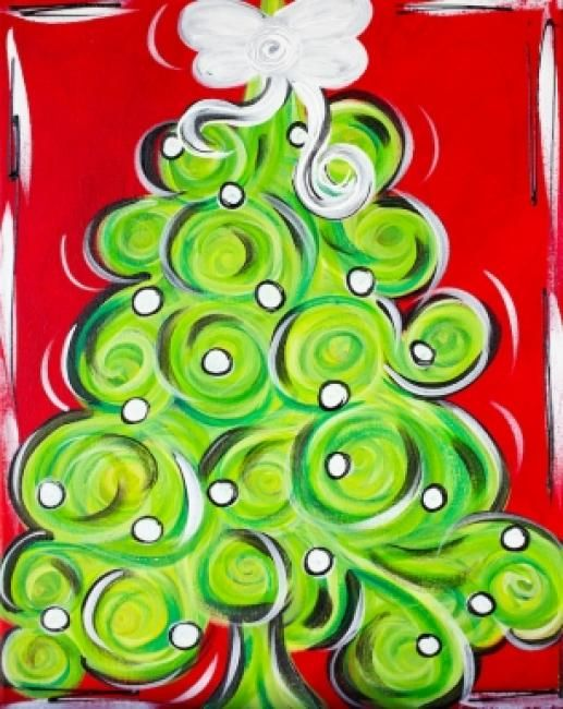 1000 ideas about whimsical christmas art on pinterest for Painting with a twist greenville tx
