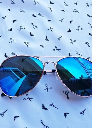 Kup mój przedmiot na #vintedpl http://www.vinted.pl/akcesoria/okulary-przeciwsloneczne/18320856-okulary-pilotki-lustrzanki-idealne-na-lato