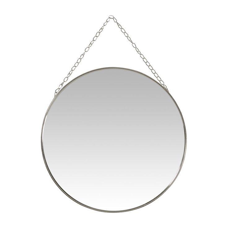 19.99 - Spiegel aan ketting - rond - 45 cm | Xenos
