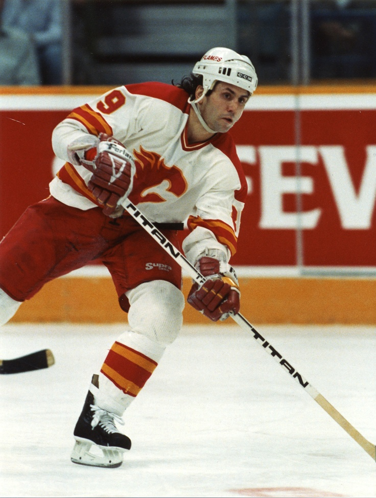 Doug Gilmour notched 67 assists in the 1989-90 campaign, a team high.