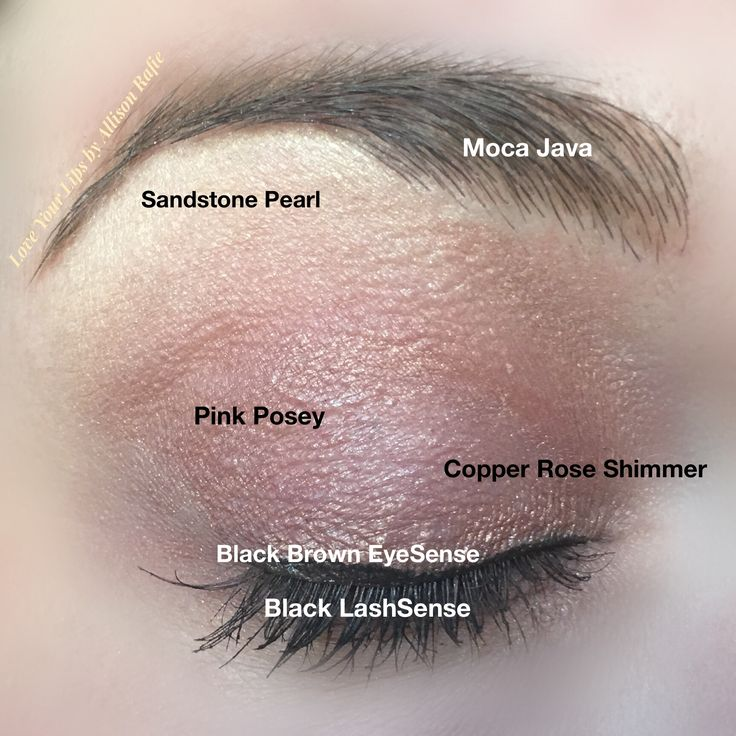 Sandstone Pearl, Pink Posey, Copper Rose Shimmer & Moca Java ShadowSense, Black Brown EyeSense & Black LashSense ❤️ Love Your Lips by Allison Rafie Follow me on Instagram @luvurlips www.facebook.com/groups/loveyourlipsbyallisonrafie Distributer #328364
