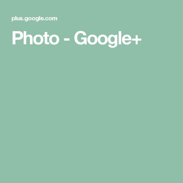 Photo - Google+