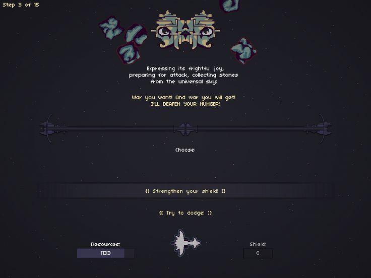 Boss 2 - Gravity Entity, from my game RymdResa http://rymdresa.com/