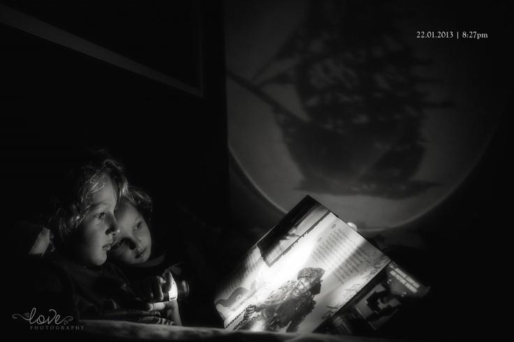 Night time pirate stories...
