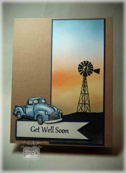 Country Get Well Card SC424