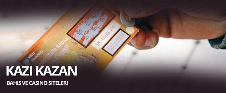 Kazı Kazan Oynanan Bahis Siteleri  Günümüzde ülkemizde ve dünyada oldukça popüler olan Kazı Kazan oyunu sanal ortama taşınarak bahis severlerin beğenisinde sunulmuştur. Kazı kazan oyunu bahis sitelerine entegre edilerek sanal hale getirilmiş ve kullanıcıların internet üzerinden oynayabileceği bir hale gelmiştir.