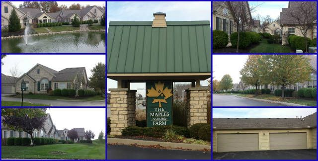 Cincinnati And Warren County Ohio Patio Homes: Deerfield Township Ranch  Condos In The Maples At 20 Mile Farm