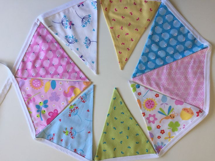 A personal favourite from my Etsy shop https://www.etsy.com/au/listing/493381663/handmade-bunting-bedroom-decor-nursery