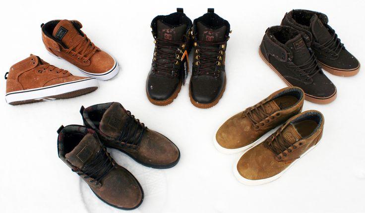 Shoes de Iarna #DC #Emerica #Element #Globe #BMXMagazin