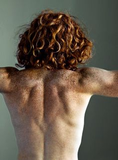 This is mostly a board of faces, not bodies. But oh, that hair! And all those gorgeous freckles. Oh, and the back is nice too! Photography by Ricky John Molloy