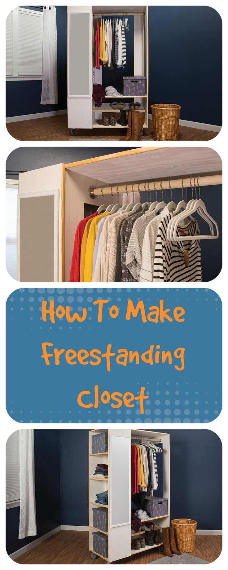 Your Wife Would Love This Extra Closet Space. Find This Pin And More On DIY  By Handymate. How To Make Freestanding Closet