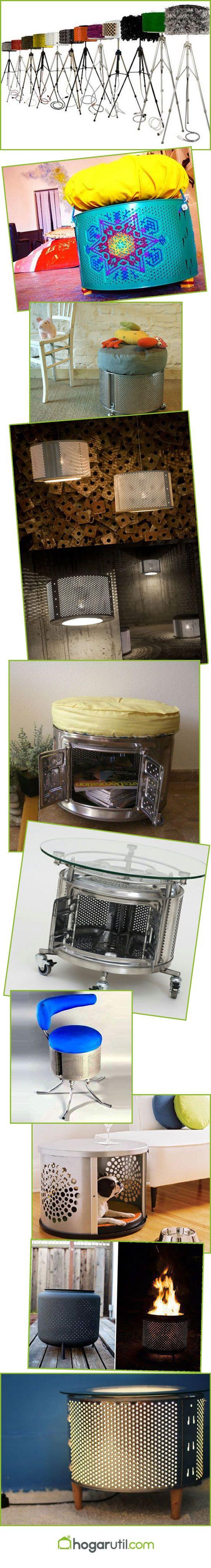 Reciclar tambor de lavadora 10 ideas para reciclar tambores de lavadora