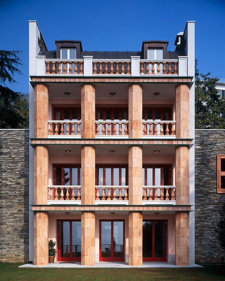 Villa Alessi, Lago Maggiore Italy | Aldo Rossi | PALLADIUM : Barbara Burg + Oliver Schuh