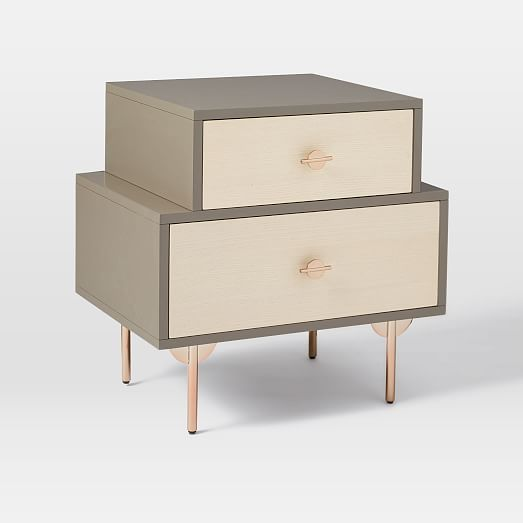 Greta Nightstand #westelm $349 available to ship on June 28, 2017