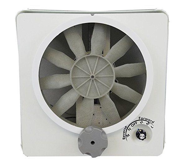 Hengs Industries 90046cr Vortex Ii Replacement Fan Kit 501 1099 Fan Airflyte Rv Upgrades