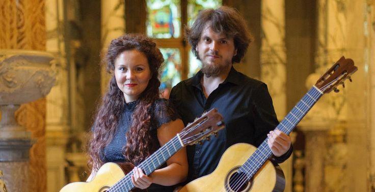 Duo Kitharsis – Alexandra Petrișor și Dragoș Horghidan – concert la St-Louis și La Strasbourg