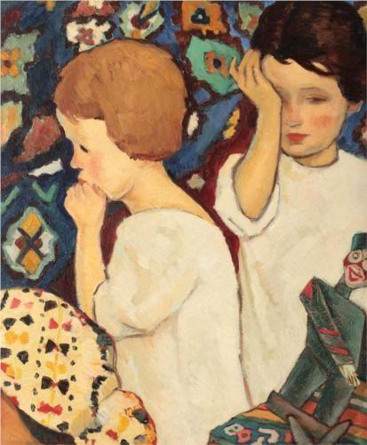Good Night, Nicolae Tonitza (Romanian painter: 1886-1940)