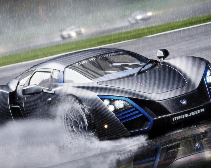 Delightful The Russian Super Car, Marussia.
