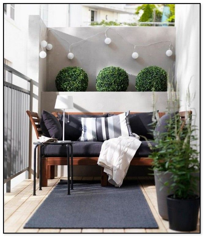 55 Cool Small Balcony Design Ideas Balcony Furniture Small Balcony Design Balcony Decor