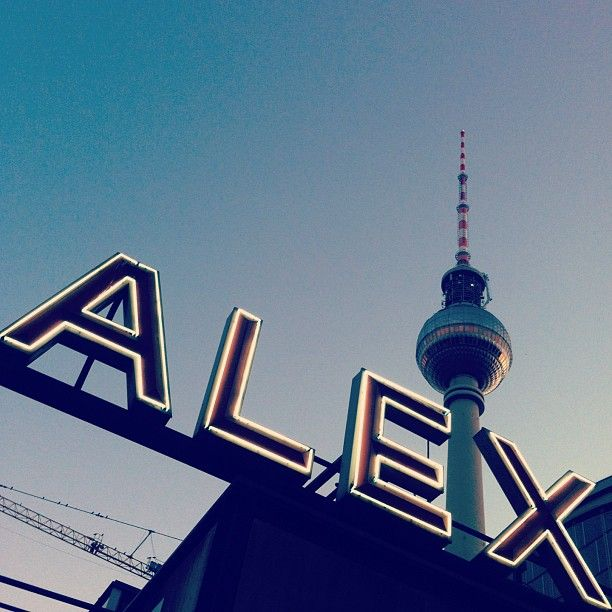 Alexanderplatz, Berlin. TV turninn sést þarna