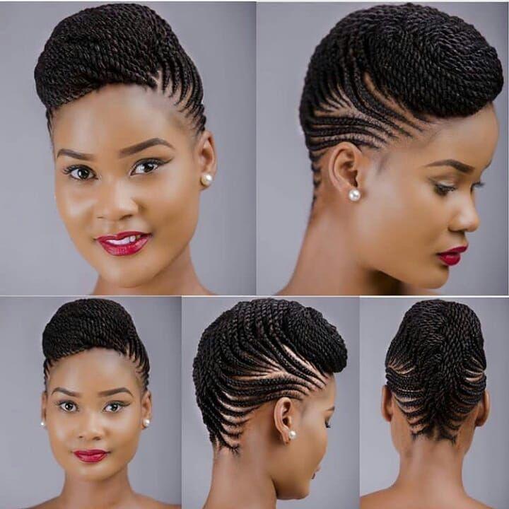 Ghanaian Hairstyles On Instagram Stunning Cornrows Cutelooksdar