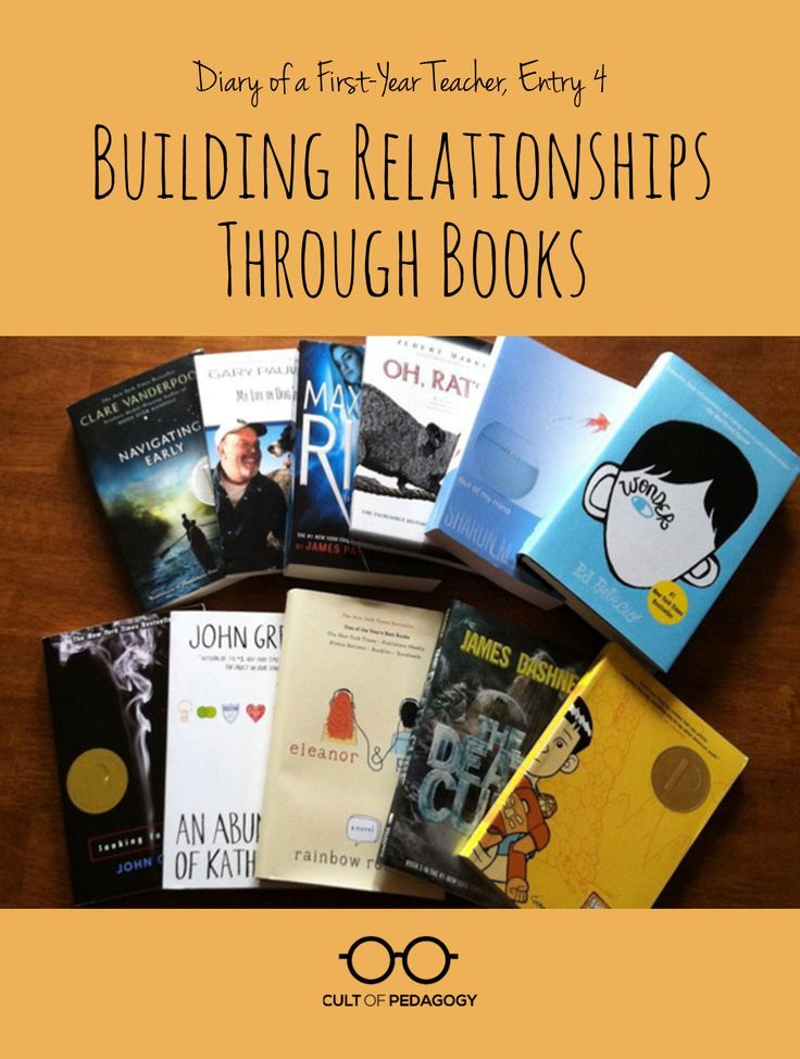 ideas for relationship building with students