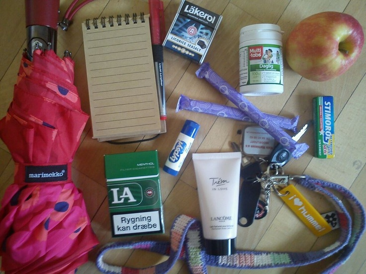 DIXIE COMPETITION / Anne-Mette's bag! Do you want to win the Ebony bag by Dixie? Simply email a photo of the contents of your bag to: naw@boozt.com...and if you want to know more about the competition, click here >> http://blog.boozt.com/2012/new-dixie-competition/