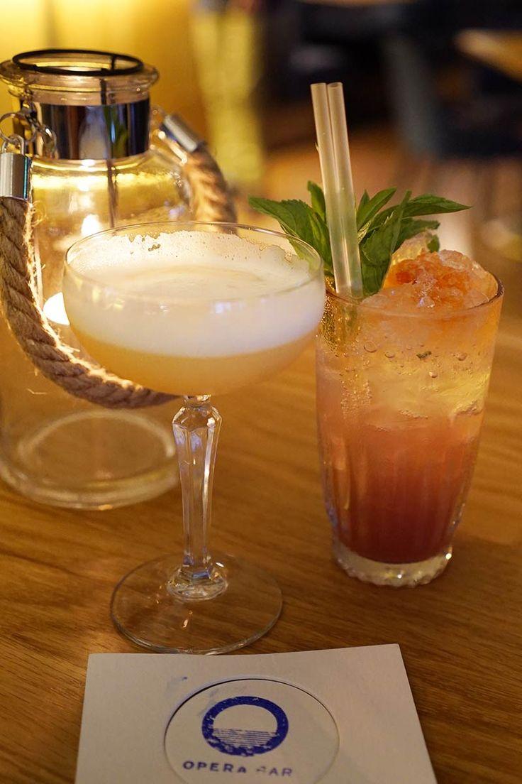 Opera Bar - Sydney CBD Matt Moran - cocktails