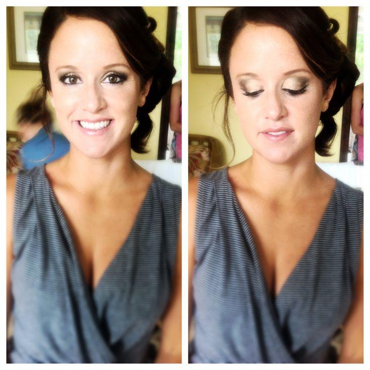 Pretty Bridesmaid Long Island Wedding Makeup Makeupartist Bridalmakeup Limakeupartist Liwedding