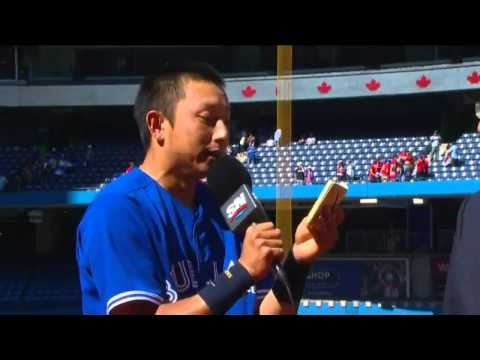 """I AM JAPANESE!"" [FULL] Munenori Kawasakis Post Game Interview After His Walk-Off Double - YouTube"