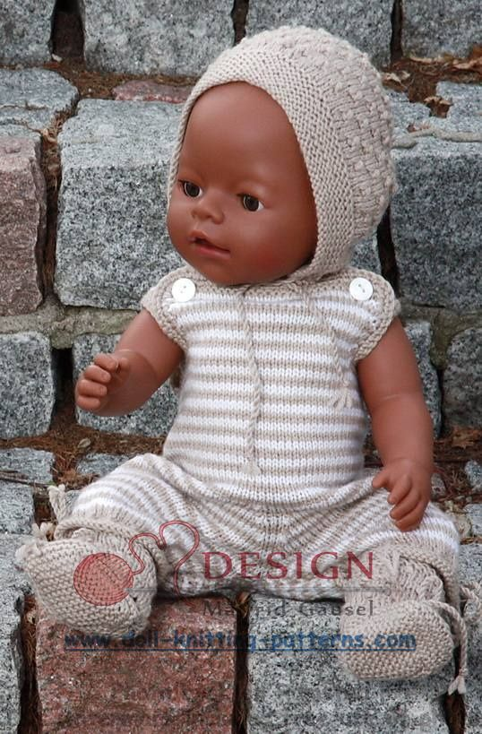 See the most lovely knitting patterns for dolls on the internet