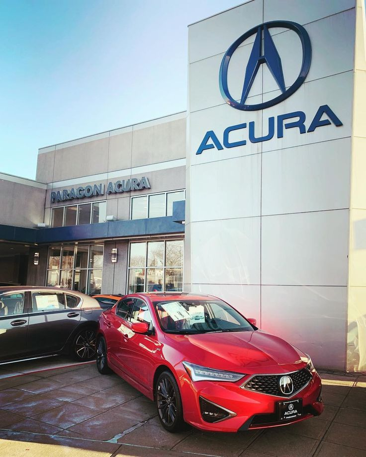 2019 Acura ILX A-Spec Performance Red Pearl/Red 😍