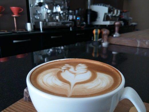 Latte art !