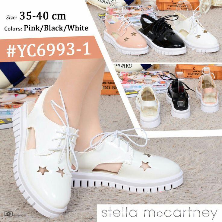 Promo Sepatu Stella McCartney YC6993-1 35-40 + Box 250rb